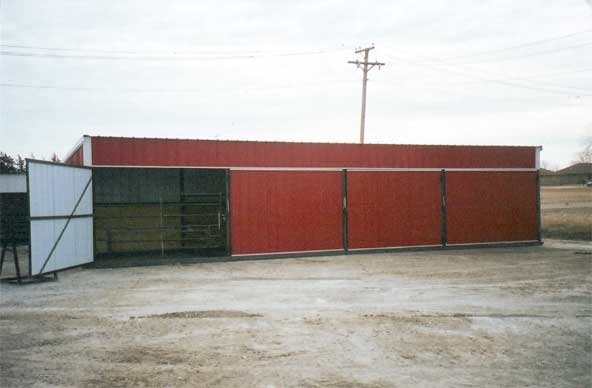 Portable Cattle Sheds
