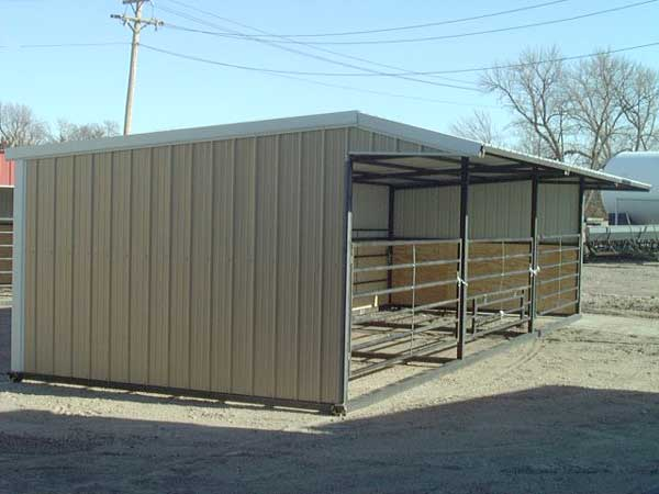 Portable Cattle And Horse Shelte